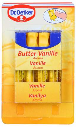 Ароматизатор Dr.Oetker пищевой сливочная ваниль 2 мл 4 штуки