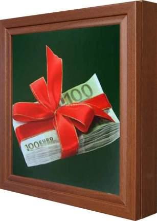 "Ключница ""Gifts Euros"" Орех"