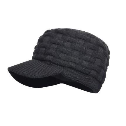 Шапка водонепроницаемая Dexshell Waterproof Beanie Peaked Black One Size