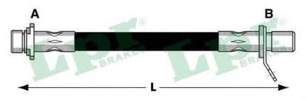 Шланг тормозной системы Lpr 6T47436