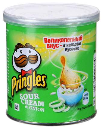 Чипсы Pringles сметана и лук 40 г