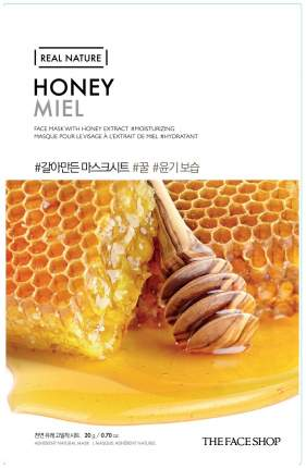 Маска для лица The Face Shop Real Nature Honey Face Mask 20 г