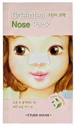 Патчи для очищения кожи Etude House Green Tea Nose Patch 0,65 г