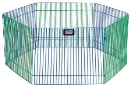 Вольер для грызунов Midwest Critterville, 6 панелей, цветной, 76х38х48 см