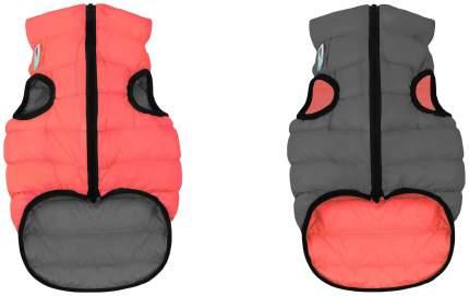 Куртка для собак AiryVest размер XS унисекс, красный, серый, длина спины 30 см