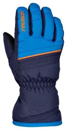 Перчатки Reusch Alan Junior синие, размер 4