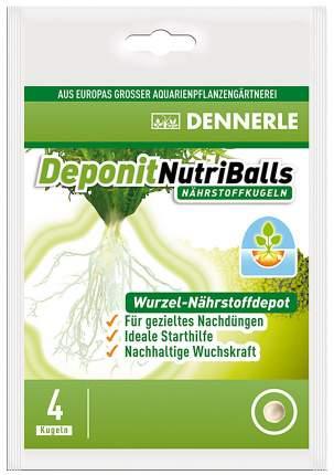 Удобрение для аквариумных растений Dennerle Deponit NutriBalls 4 шт.