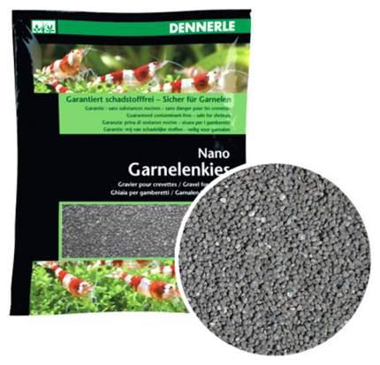 Грунт для аквариума Dennerle Nano Garnelenkies 2 кг Серый