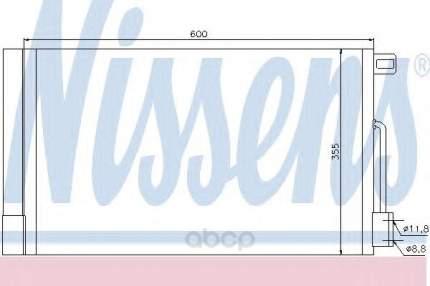 Радиатор кондиционера Nissens 94973