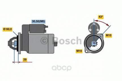 Стартер Bosch 0001107459