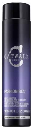 Шампунь Tigi Catwalk Fashionista Violet 300 мл