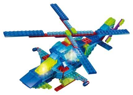 Конструктор пластиковый Crystaland Светящийся 8 в 1 Воздушная техника, 153 детали