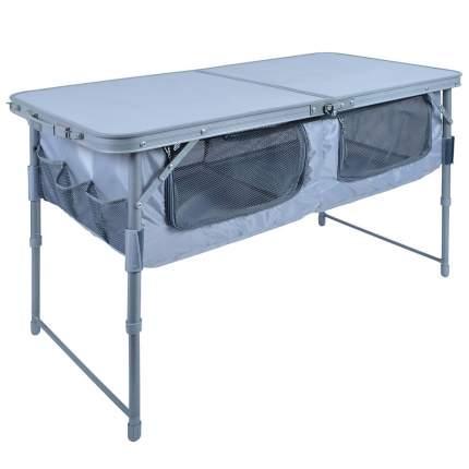Туристический стол Nika ССТ-3П серый/металлик