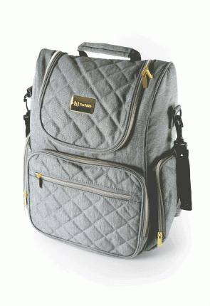 Рюкзак для мамы Farfello F3 серый