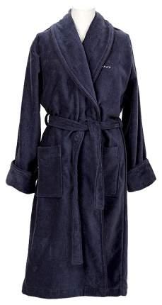 Халат Gant Home Premium Velour Robe 856002603 синий M