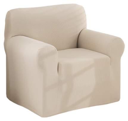 Чехол для кресла Karna Napoli Одноместный Кремовый