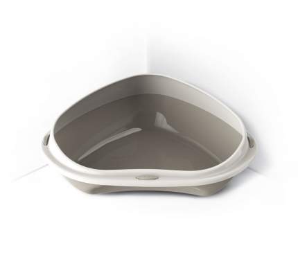 Туалет для кошек GEORPLAST SHUTTLE CORNER угловой с бортом 49х40х17,5 см