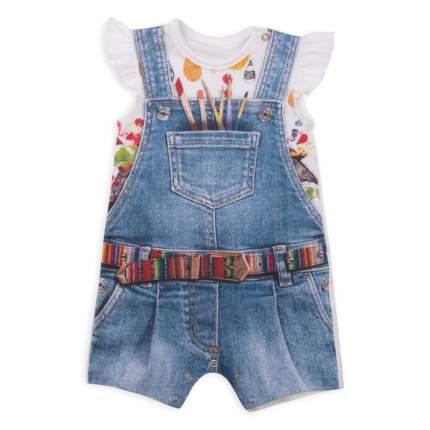 Боди Папитто для девочки Fashion Jeans 543-02 р.22-68