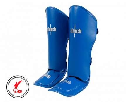 Защита голени и стопы Clinch Shin Instep Guard Kick синяя M