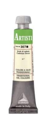 Масляная краска Maimeri 307 кадмий зеленый 20 мл