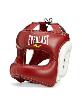 Боксерский шлем Everlast MX Headgear красно-белый M