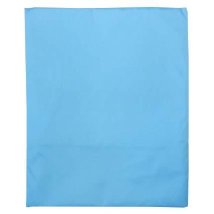 Наматрасник детский Папитто непромокаемый 120х60 Голубой 039