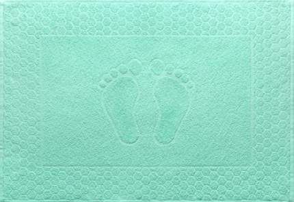 """Полотенце махровое """"Ножки"""" (мятное) 48х70"""