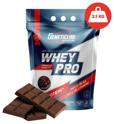 Протеин GeneticLab Nutrition Whey Pro, 2100 г, chocolate