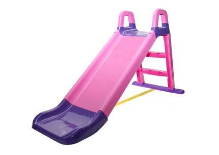 Горка для катания Doloni розово-фиолетовая