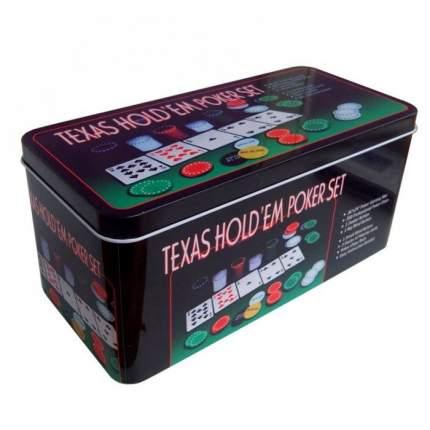 Набор для покера Partida Holdem Light на 200 фишек без номинала