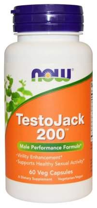 Многокомпонентный препарат NOW TestoJack 200 60 капс. натуральный