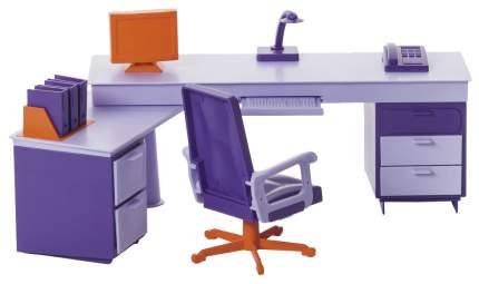 Мебель для кукол Огонек Мини-офис С-1419