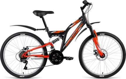 """Велосипед Altair MTB FS 24 Disc 2019 14.5"""" gray/orange"""