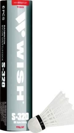 Набор воланов для бадминтона Wish S-505, перо, 6 штук