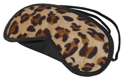 Маска Lux Fetish Peek-A-Boo Love Mask на глаза леопардовый