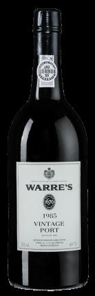 Портвейн Warre's Vintage Port, Warre`s, 1985 г.