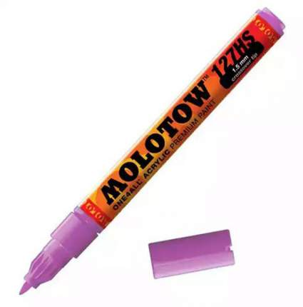 Маркер акриловый Molotow 127HS One4all 2мм фиолетовый
