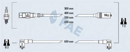 Комплект проводов зажигания FAE 85865