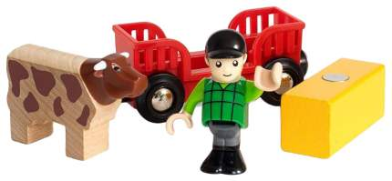 Объекты железной дороги Brio Мальчик на ферме 33879