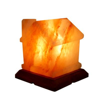 Соляная лампа Домик с диммером