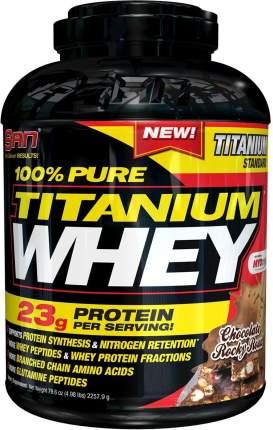 Протеин SAN 100% Pure Titanium Whey 2270 г Chocolate Rocky Road