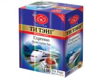 Чай черный Ти Тэнг expresso в пакетиках для чашки 100*2.5  г