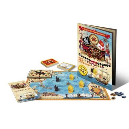 Семейная настольная игра Нескучные игры Пираты 7834