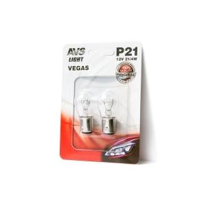 Лампа AVS Vegas в блистере 12V. P21/4W(BAZ15d) A78473S