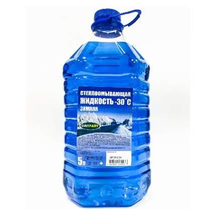 Стеклоомывающая жидкость OILRIGHT -30  5 л