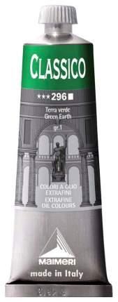 Масляная краска Maimeri Classico зеленая земля 60 мл