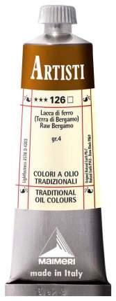 Масляная краска Maimeri Artisti земля бергамо натуральная 40 мл