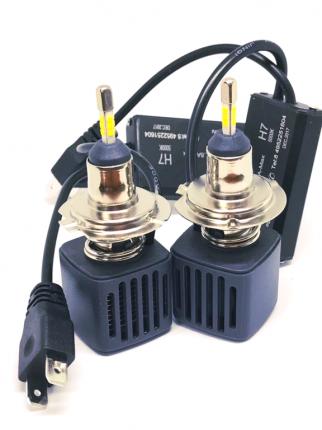 Комплект светодиодных ламп F2 LED H7 22w  (5000К)