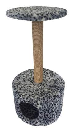 Комплекс для кошек Пушок Круглый Серый леопард