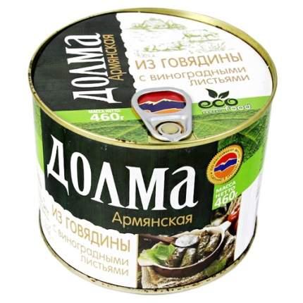 Долма армянская из говядины Ecofood 460 г